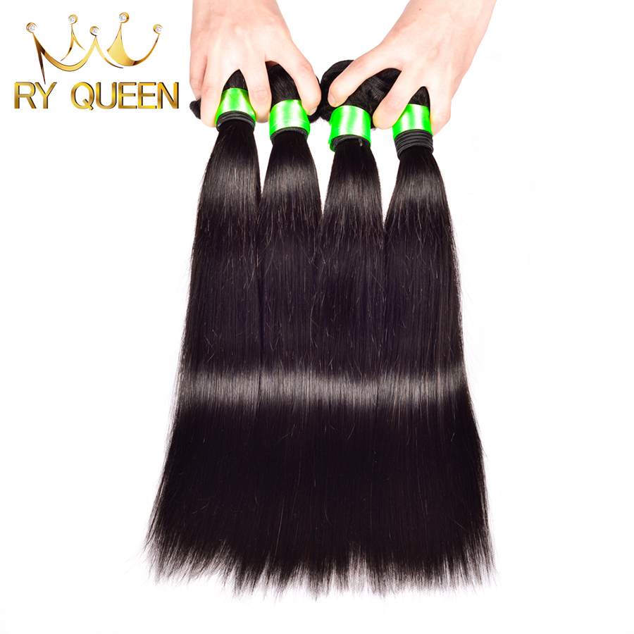 7A brazilian virgin hair straight 4 bundles brazilian straight hair 8''-30'' unprocessed virgin brazilian hair human hair weave
