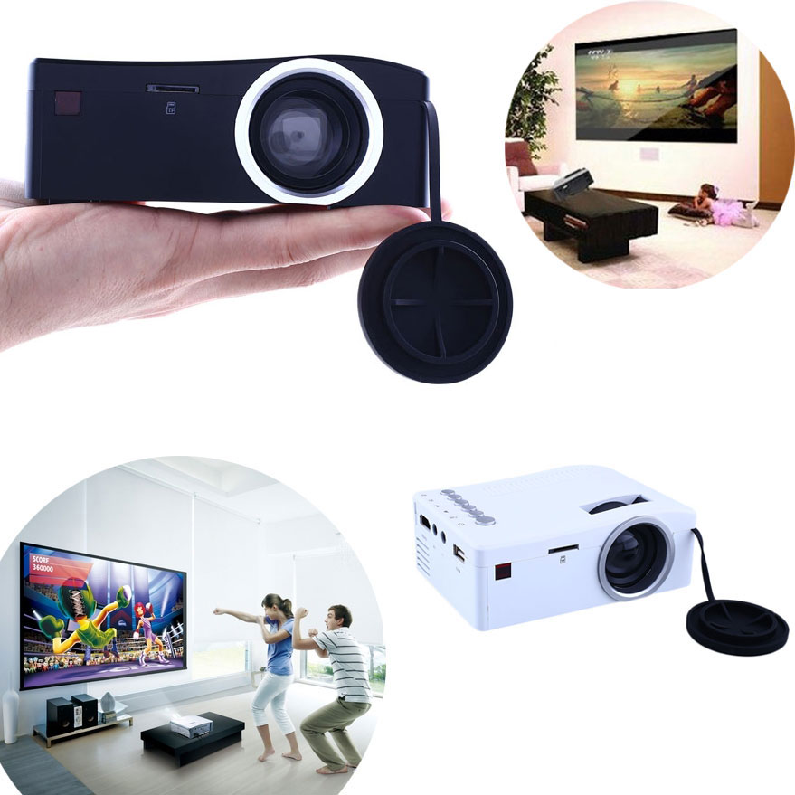2016 Hot Sale Mini Projector TV Led Video LED Beamer Home Theater HDMI Android Projeksiyon(China (Mainland))