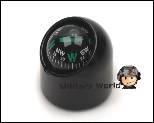 Tactical Military Travel Outdoor Sports Activities Portable Waterproof Practical Useful Mini Auto Navigating Car Compass Ball(China (Mainland))