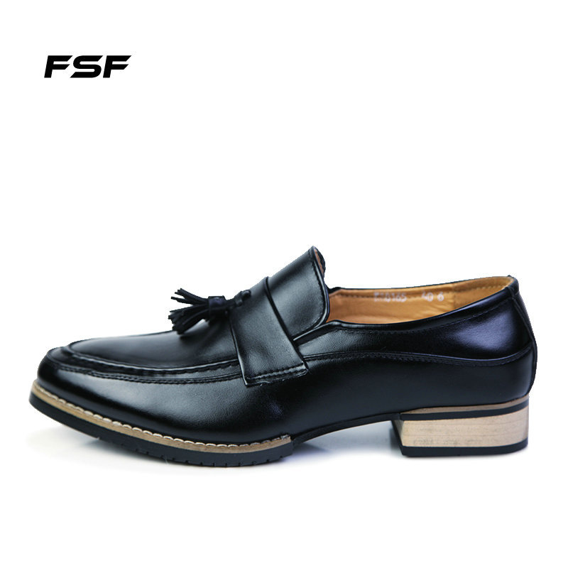 FSF 2015 Casual Vintage Oxford Shoes for Men Slip On Patent Genuine Leather Mens Dress Shoes Tassels Brogue Men Shoes 8165<br><br>Aliexpress