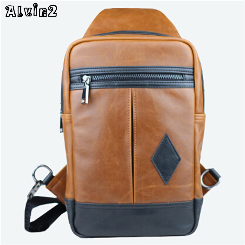 Large capacity women men messnger crossbody shoulder bags genuine horse leather for men women fashion high quality brown AW249<br><br>Aliexpress