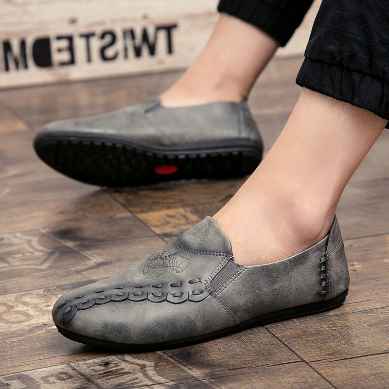 new solid color men casual shoes hot sale 2017 footwear men's cool loafers luxury brand slip on moccasins fashion shoes for men (21)