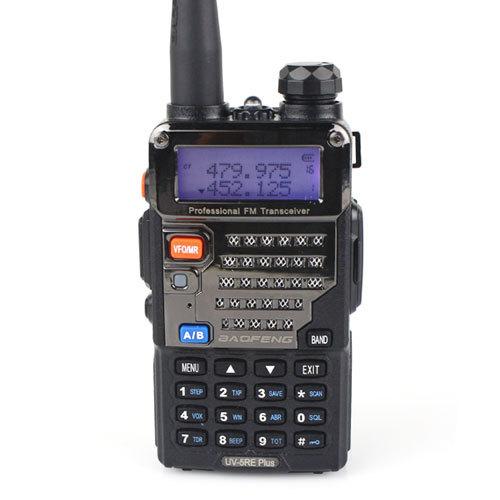 Baofeng UV 5RE Plus Walkie Talkie Dual Band 5W 128CH UHF + VHF FM VOX Display UV5RE Portable Radio A0850P - Retevis Flag Online Store store