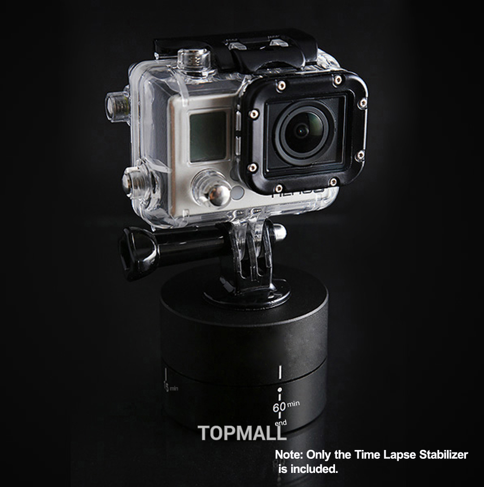 Xiaomi Yi Accesorios Gopro Accessories 1/4″ 360 Degrees Rotating Time Lapse Stabilizer Tripod for Go pro Hero4 Black edition