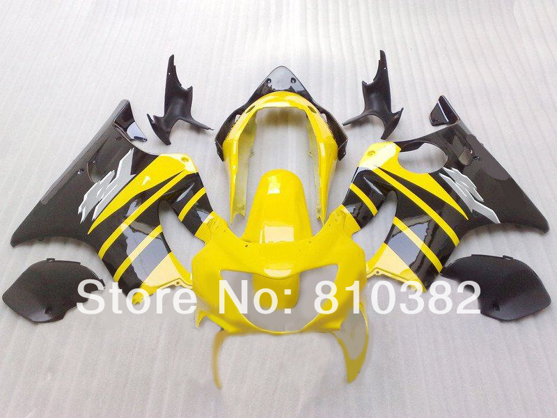 2014 Motorcycle Fairing kit HONDA CBR600 F4 99 00 CBR600F4 1999 2000 Popular yellow black ABS Fairings set HG28 - FAIRING KIT Co. Ltd store