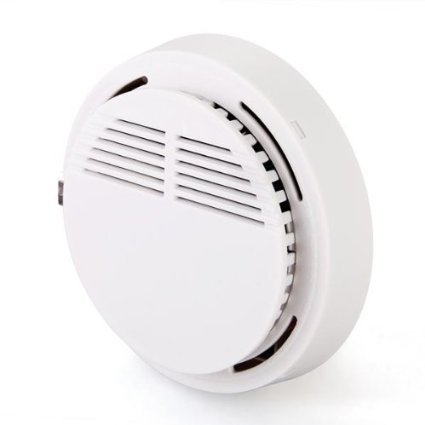 Sensitive Photoelectric Home Security System Cordless Wireless Smoke Detector Fire Alarm, Free Shipping<br><br>Aliexpress