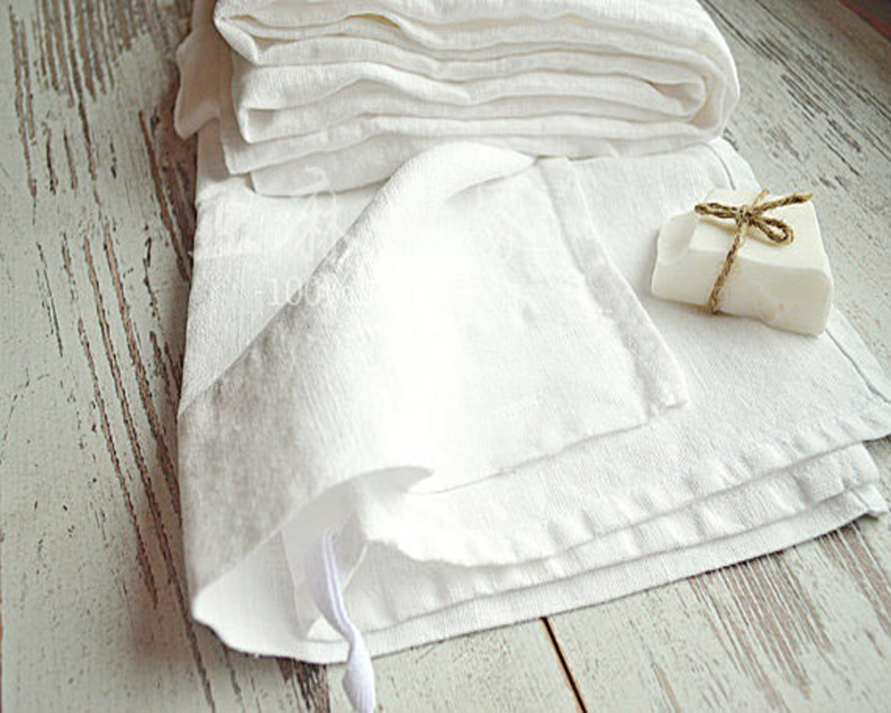 100% REAL WHITE LINEN NAPKINS WEDDING TABLE NAPKIN NATURAL PURE PINK STAIN TABLE CLOTH COVER CLOTHS DINNER serviette Antique(China (Mainland))