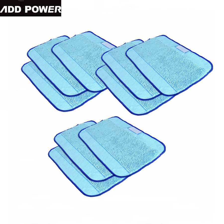 Microfiber 9-Pack Pro-Clean Mopping Cloths for Braava Floor Mopping Robot irobot Braava Minit 4200 5200 5200C 380 380t(China (Mainland))