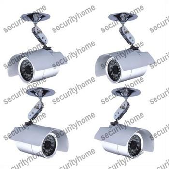 "4X Outdoor 1/3"" SONY 600TVL CCD 36 IR Day&Night Waterproof CCTV Camera Security Free shipping"