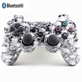 Shock Wireless Bluetooth Gamepad with Cool Skull Design for Sony Playstion3