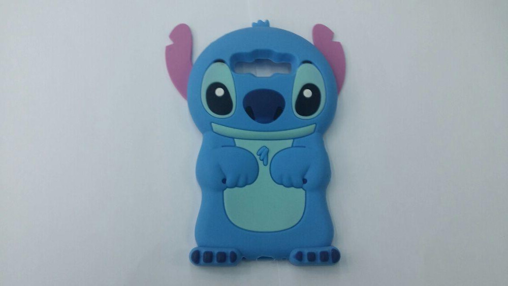 2015 New Hot Cartoon 3D Cute Blue Stitch Soft Silicone Rubber Cover Case Samsung Galaxy A5 A500 Phone Cases - All the Best Things store