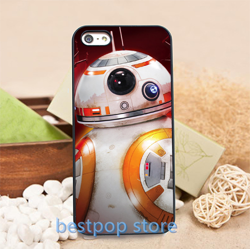 Star wars bb8 droid (3) fashion cover case for iphone 4 4s 5 5s SE 5c 6 6 plus 6s 6s plus #cz0815(China (Mainland))