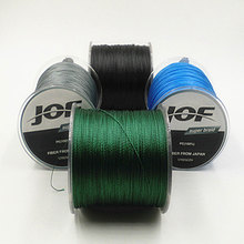 2016 Brand 4STRANDS 500M Super Strong 4PLYS Japan Multifilament PE 4 Braided fluorocarbon Fishing Rops Line 20 30 40 50 80 100LB(China (Mainland))