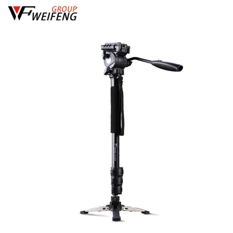 Tripod Weifeng WF-3958M Camera Tripods Monopod SLR Camera Portable Travel Tripods Support Foot Tripods(China (Mainland))