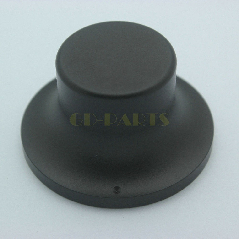 4PC 48*26mm Black Machined Solid Aluminum Car Audio DAC Amplifier CD Player Knob<br><br>Aliexpress