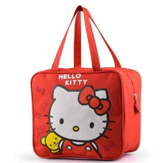 Бесплатная доставка привет котенок обед , студенческие сумки мультфильм милый розовый ...