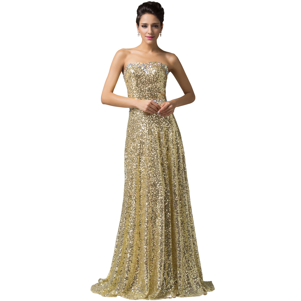 Long Gold Evening Gown Dresses | Dress images