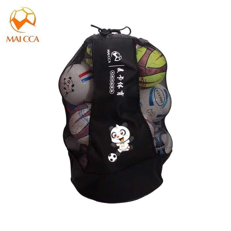MAICCA Volleyball balls bag backpack Super big for Football basketball Soccer 25 pcs fit ball net bags sports training bag(China (Mainland))