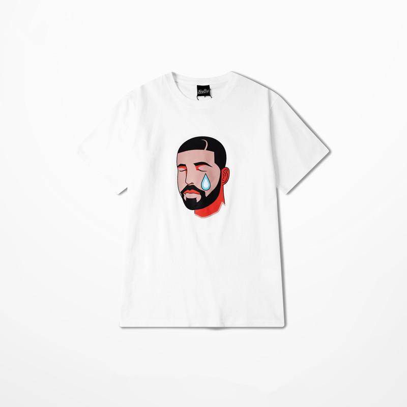 New Fashion Brand Clothing Harajuku T Shirt DRAKE OVO 6GOD Short Sleeve Men T-shirts Summer 2016 Leisure O-Neck Cotton Tees Tops(China (Mainland))