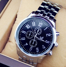 BKSWOR 2014 New Fashion Top Quality Stainless Steel Geneva Women Watches Quartz Watch Men's watch