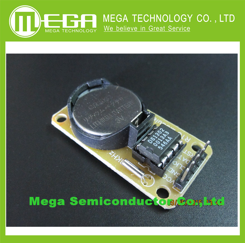 Гаджет  DS1302 Real Time Clock Module without CR2032 Button Battery 31 x 8 RAM None Электронные компоненты и материалы