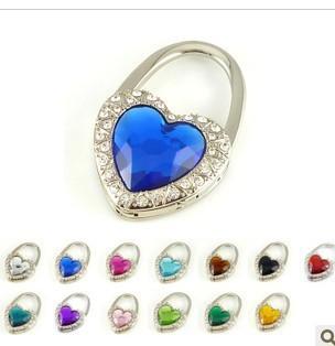 DHL free shipping 200pc/lot Heart-shaped lock bag hook hooks of individual creative gift fashion bag hook BH004<br><br>Aliexpress