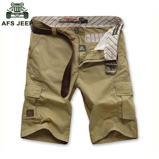 АФН JEEP 2015 Мужчин прохладное лето большой размер армии случайные бренд шорты 100% ...