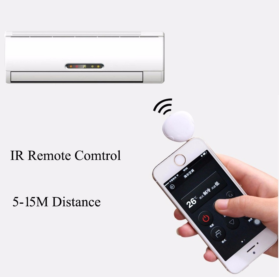 3.5mm Universal Remote Control IR Appliances Pocket Mobile Phone For Air Conditioner TV DVD Projector Smart control(China (Mainland))
