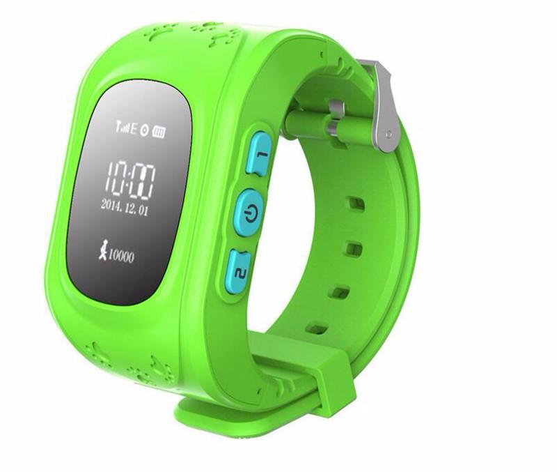 image for Smart Watch Kid Safe Wristwatch GSM GPS Finder Locator Tracker SIM SOS