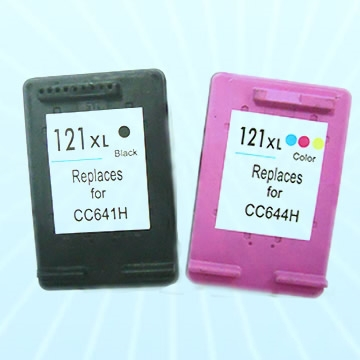 2Pcs Ink Cartridge 121 For HP Cartridge HP121 For HP Deskjet D2563 F4283 F2423 F2483 F2493 F4213 F4275 F4283 F4583 For HP 121<br><br>Aliexpress