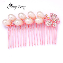 popular crystal hair pin