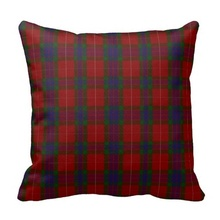 Stylish Clan Fraser Tartan Plaid Pillow Case (Size: 20″ by 20″) Free Shipping