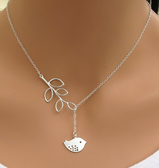 2015 Fashion silver plated Simple hollow owl lucky Infinity 8 Geometric bird Fatima hand cross pendant Necklace for Women(China (Mainland))