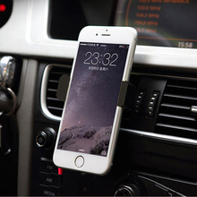 Car Outlet Phone Holder Auto Air Vent For iPhone 6 Plus stand 360 rotating telescopic phone support car GPS navigation 2016(China (Mainland))