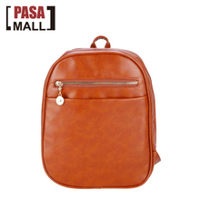 New Women Fashion Retro Casual Faux Leather Backpack College Bookbag Shoulder Bag(China (Mainland))