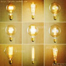 Buy 2pcs E27 40W 220V Retro Lampada Edison Bulb Lamp Bombilla Edison Vintage Bulb Light Lamp Ampoules Decoratives St64 A19 T45 G80 for $6.65 in AliExpress store
