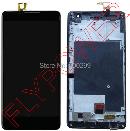 100% New Original LCD Screen Display + Touch  Digitizer with frame  For ZTE Nubia Z7 Max NX505J  Assembly by free shipping