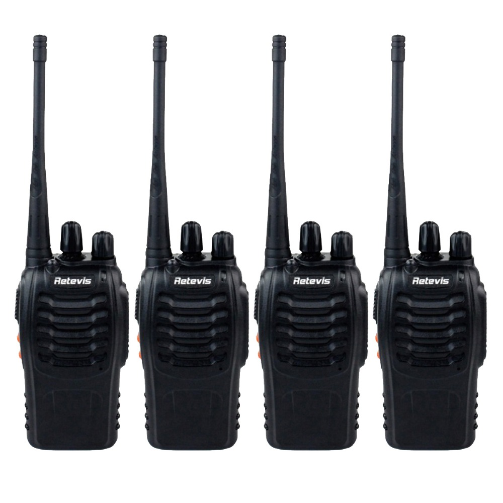 4pcs Walkie Talkie Retevis H777 16CH UHF 400-470MHz Ham Radio Hf Transceiver Two Way Radio Interphone Portable A9105A(China (Mainland))