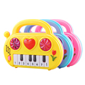 Cute Mini Piano Music Toy 8 Scales Early Educational Musical Instrument Piano Developmental Sound Toy Random