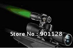 ND30 Laser flashlight with switch Mount Designator Long Distance Sight for Rifle Green Optical Coated Glass Lens Night Hunting