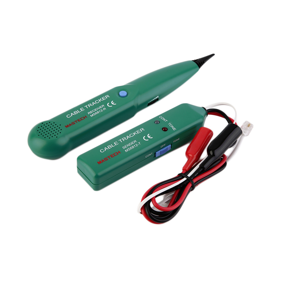 New telephone phone wire network cable tester line tracker for Cable de telephone exterieur