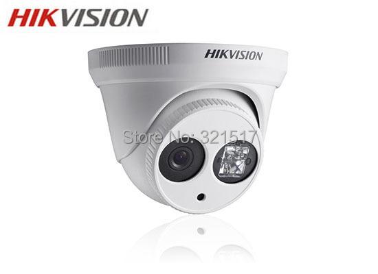 Free shipping Hikvision IP Camera DS-2CD2332-I 3MP high resolution 1080p video mini dome Network Camera IR POE cctv camera(China (Mainland))