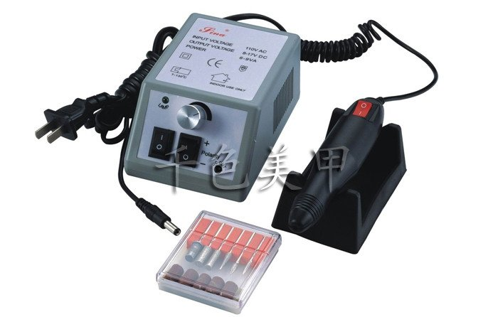 Nail Art Dremel Machine Manicure Beauty Salon Equipment Electric Nails File Ponceuse Ongle Drill Ponceuse Electrique Tools Set(China (Mainland))
