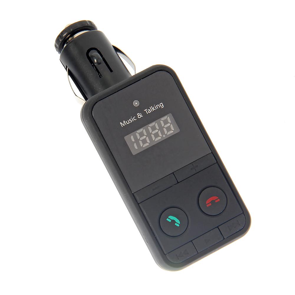 Bluetooth беспроводной автомобильный MP3 плеер жк-fm-радио-передатчик + USB SD карта дистанционного комплект дистанционного управления по