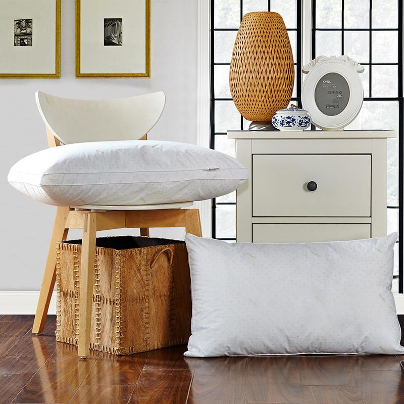 plume de luxe oreillers promotion achetez des plume de luxe oreillers promotionnels sur. Black Bedroom Furniture Sets. Home Design Ideas