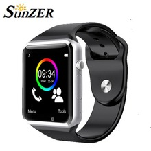 2016 A1 Wristwatch Bluetooth Smart Watch Sport Pedometer SIM Card Camera Smartwatch for Android Smartphone