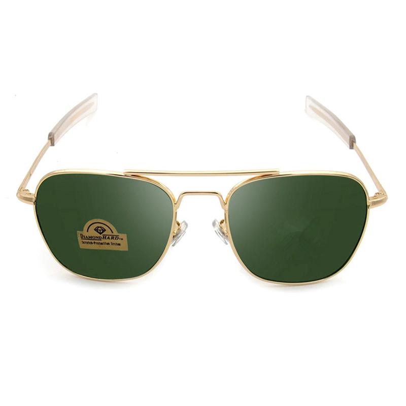 New Alloy Gold Metal Frame Women Sunglasses Brand Aviation ...