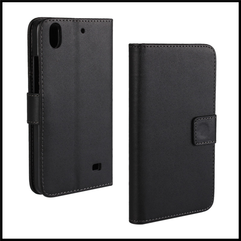 PU Leather Wallet Stand Cover Case for Huawei Ascend G620s + free shipping
