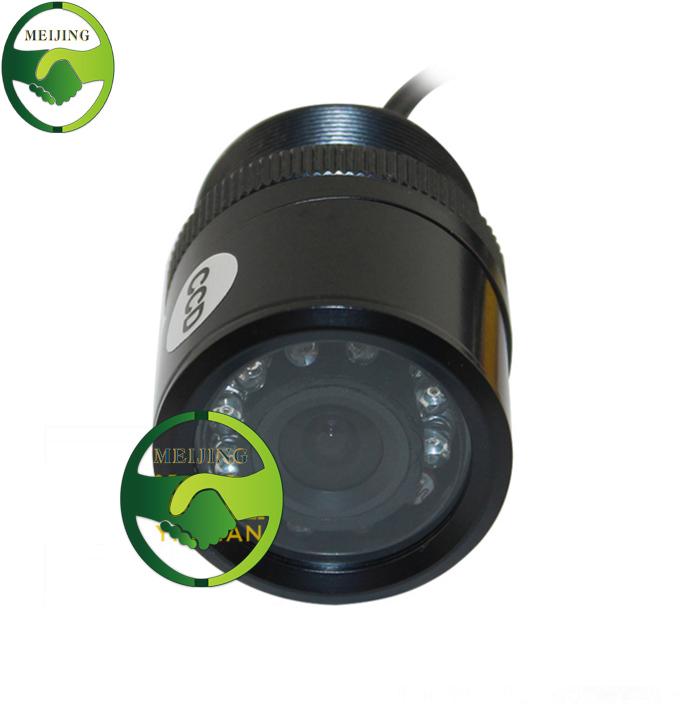 Wide Viewing Angle Waterproof Reversing Camera IR 7 LED Night Vision Car Rear View Camera CMOS imaging Sensor(China (Mainland))