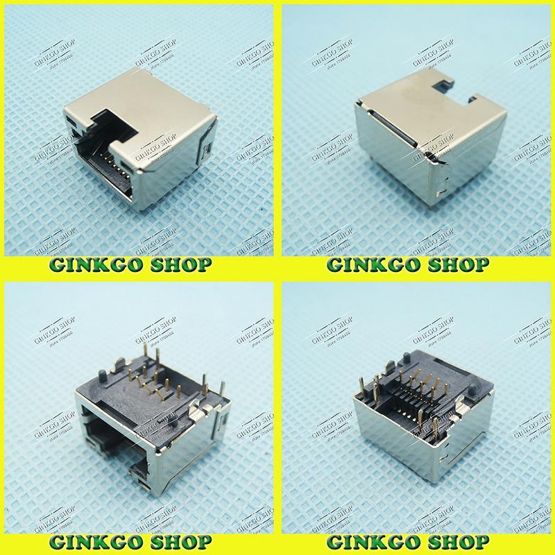 100pcs/lot Original New Notebooks RJ45 Jack female/Lan Port/Ethernet Sockect/Network interface cards for DELL(China (Mainland))